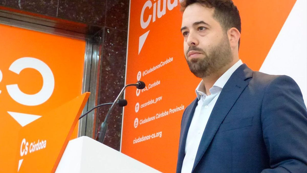 El parlamentario andaluz de Cs, Fran Carrillo.