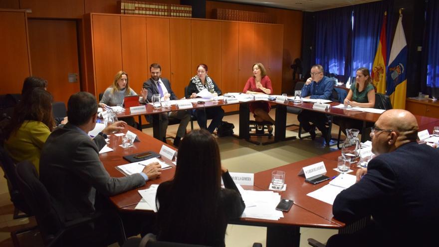 En la imagen, reunión celebrada este martes.