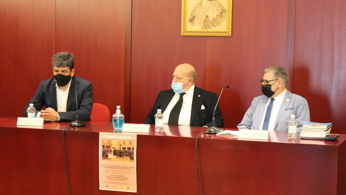 Conferencia sobre los comuneros en Montilla.