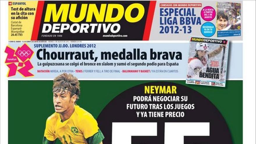 De las portadas del día (03/08/2012) #14
