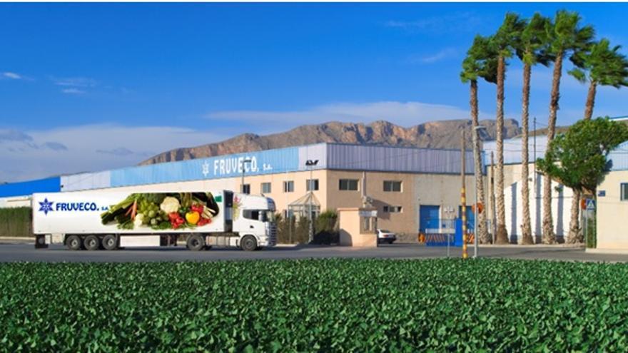 La empresa hortofrutícola Fruveco, localizada en la pedanía de El Raal