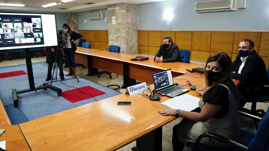 Buruaga, en el Comité Ejecutivo del PP