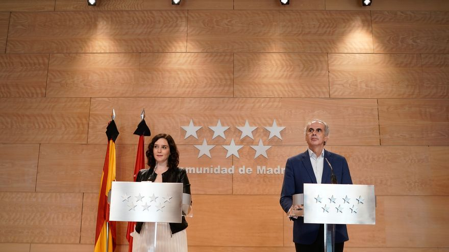 Madrid pide de nuevo acceder a la Fase 1 de desescalada y remitirá el informe técnico esta noche