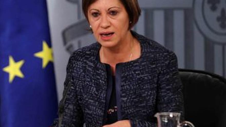 Ministra de Medio Ambiente y Medio Rural y Marino, Elena Espinosa