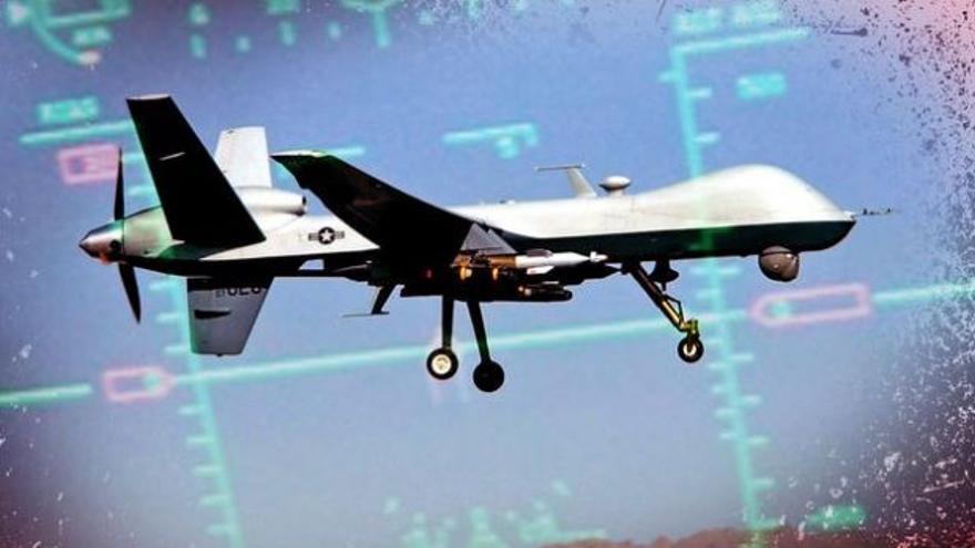 Avión no tripulado / EFE