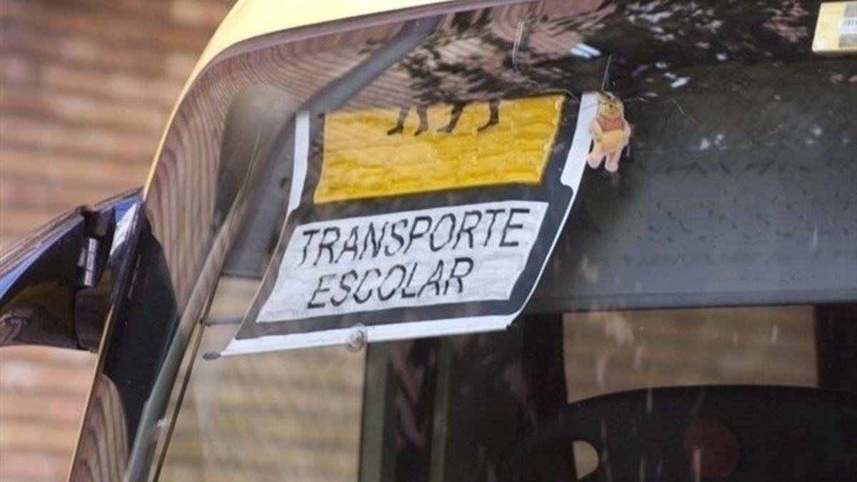 Archivo - Autobús escolar