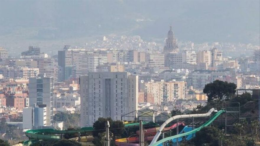 Contaminación atmosférica en Murcia/ EFE