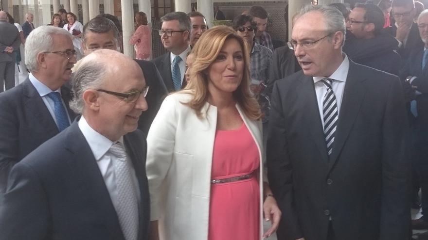 Susana Díaz reforzará educación y sanidad en su nuevo Gobierno y anuncia cambios en la gestión del modelo productivo