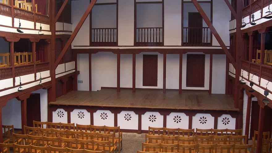 Corral de Comedias de Almagro, el único teatro del Siglo de Oro que sigue en pie en España. David Jones