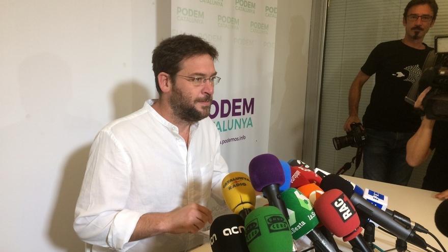 """Fachin sobre la cárcel para el Govern cesado: """"Trabajaré para que esté libre. No pasarán"""""""