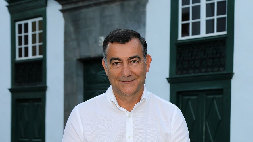 Juan Arturo San Gil, portavoz de Ciudadanos en el Ayuntamiento de  Santa Cruz de La Palma.