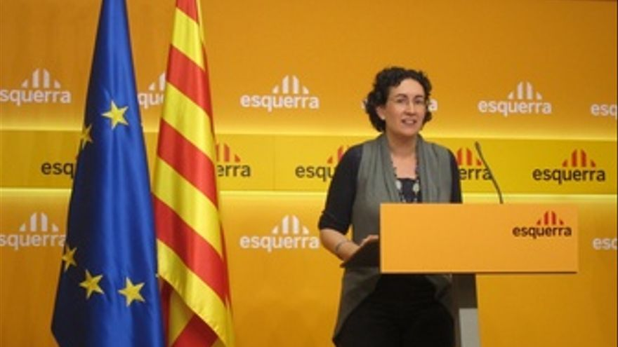 La Secretaria General De ERC, Marta Rovira, En Rueda De Prensa