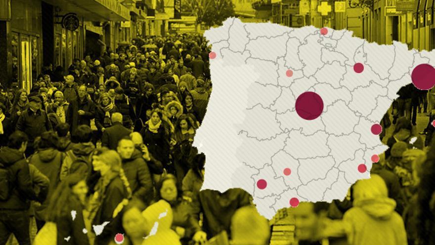 Mapa demográfico. Pablo J. Álvarez