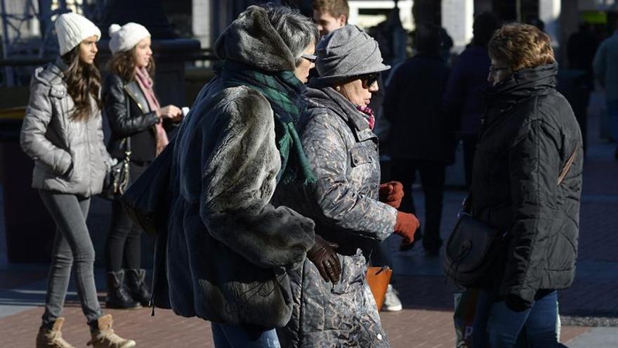 Un frente frío desplaza el ambiente cálido a partir de mañana