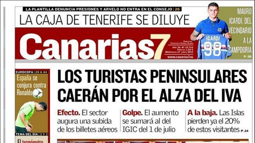 De las portadas del día (27/06/2012) #2