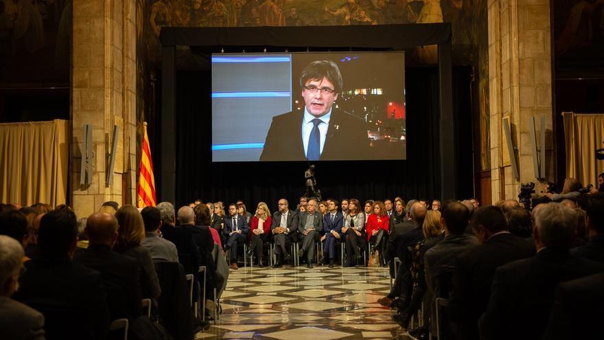 Puigdemont anuncia un registro para que la gente se sume al Consell per la República