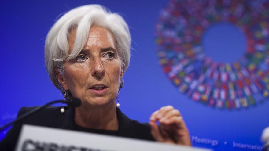 Christine Lagarde, directora gerente del Fondo Monetario Internacional. (EFE)