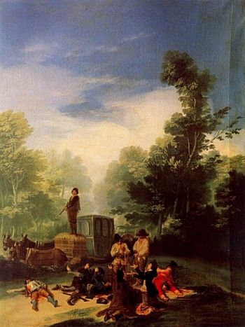 Asalto al coche | Francisco de Goya