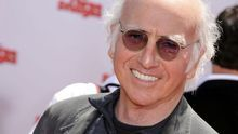 El actor y guionista Larry David.