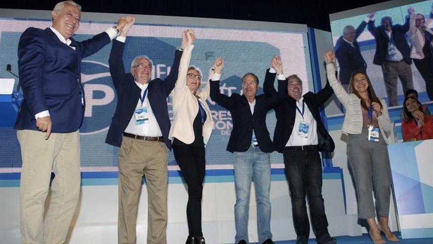 Imbroda es reelegido al frente del PP de Melilla con un apoyo masivo