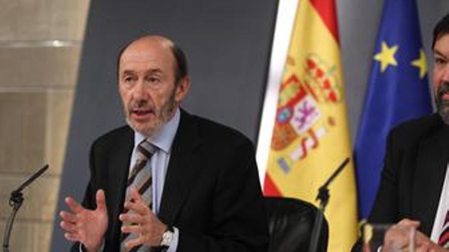RDP de Alfredo Pérez Rubalcaba