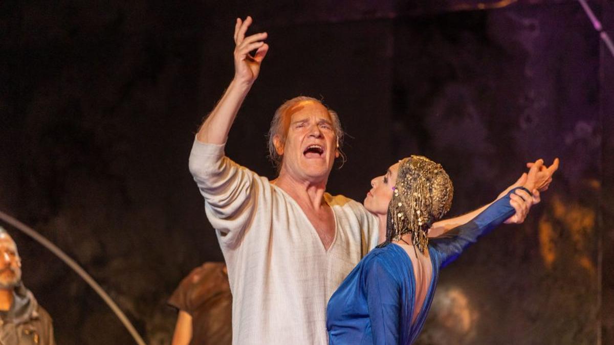 """""""Antonio y Cleopatra"""" es la segunda obra del 67 edición del Festival Internacional de Teatro Clásico de Mérida."""