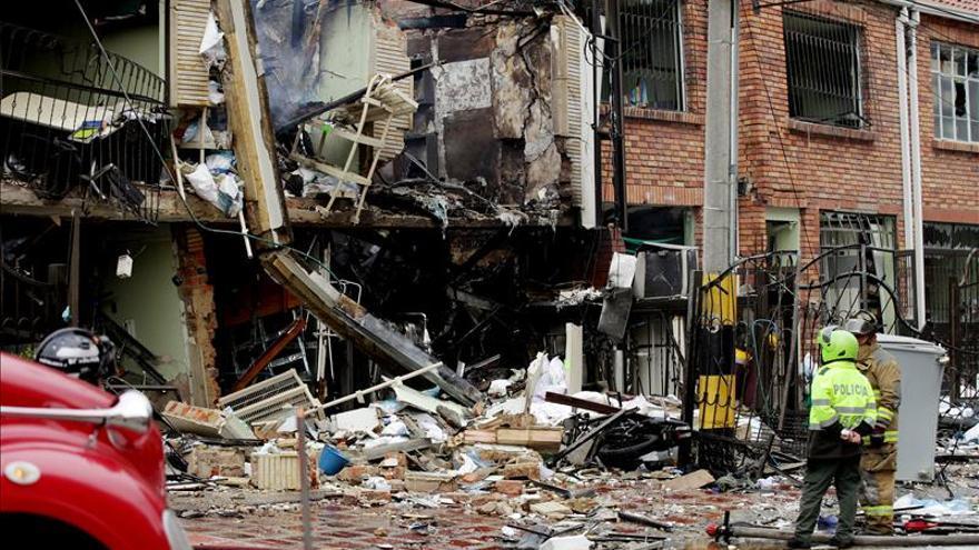 Unos quince heridos deja la explosión de un laboratorio en la capital colombiana