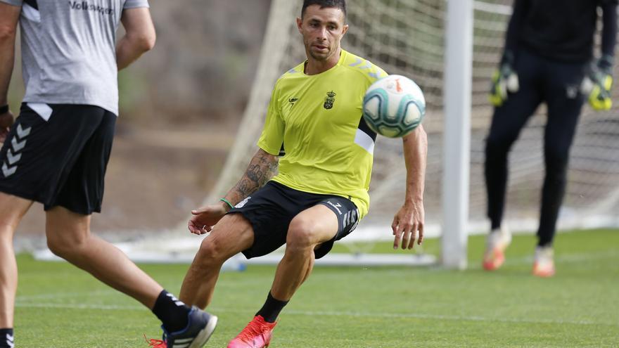 Rubén Castro durante un entrenamiento.