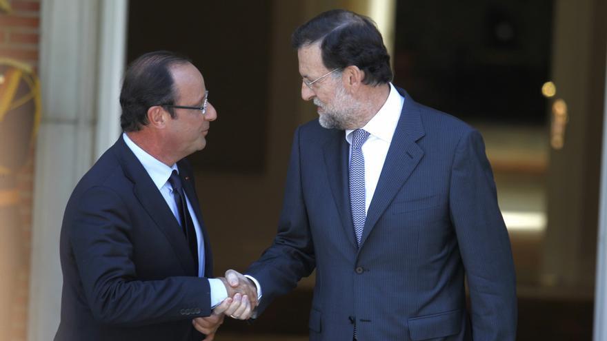 Rajoy y Hollande ven imprescindible que El Assad se vaya para encontrar una solución a la crisis en Siria
