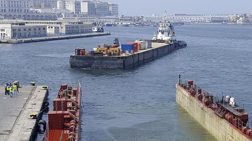 TIBA participa en uno de los megatransportes del año en el Mediterráneo