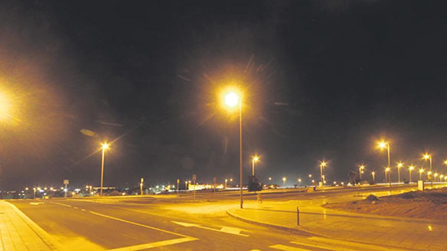 Calles de una urbanización en Maneje, Arrecife / Foto: De la Cruz.