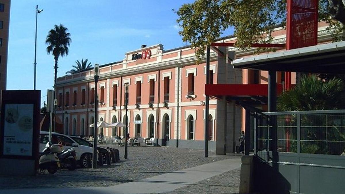 Estación del tren de Xàtiva.