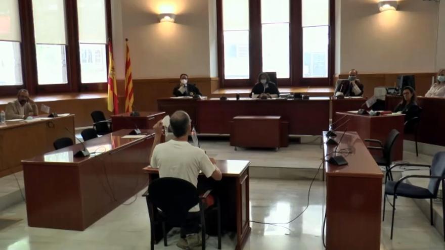 Momento de la declaración del acusado