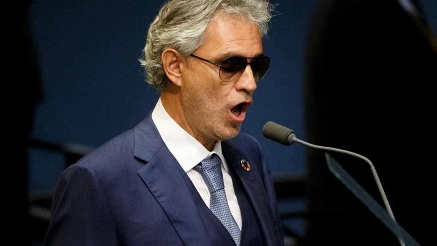 Andrea Bocelli suspende su concierto en Marbella por una bronquitis severa