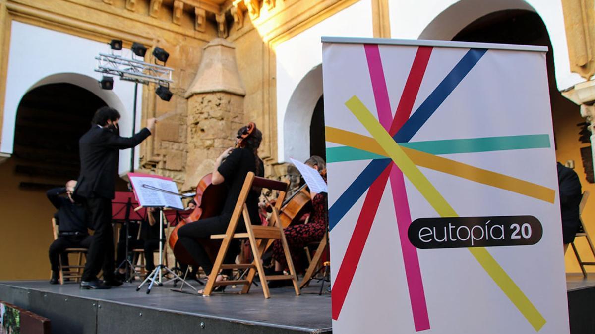 Concierto de la Camerata Gala en Eutopía 2020.
