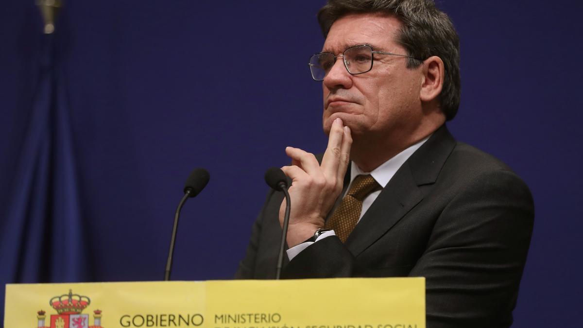 El ministro de Inclusión, Seguridad Social y Migraciones, José Luis Escrivá. EFE/Kiko Huesca