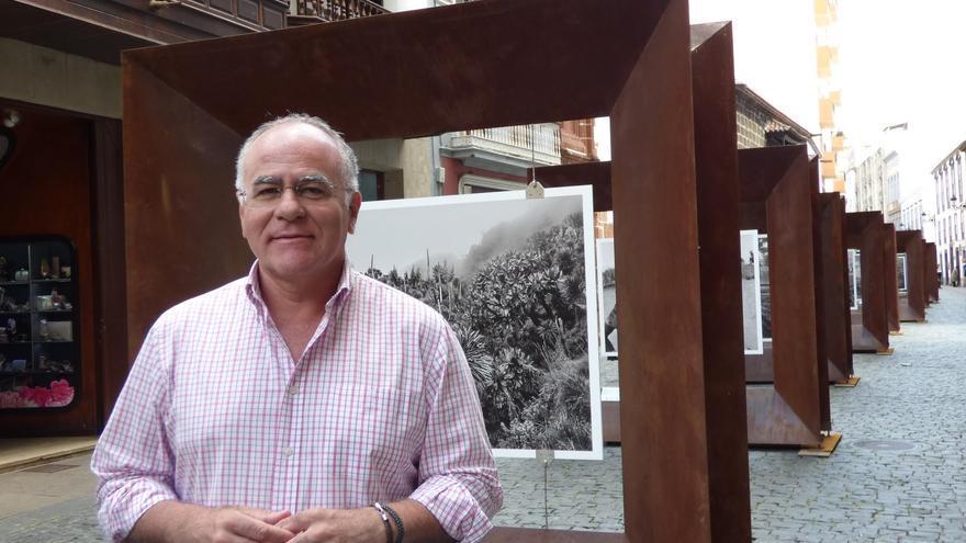 Carlos Cabrera, portavoz adjunto del grupo Popular en el Cabildo de La Palma.