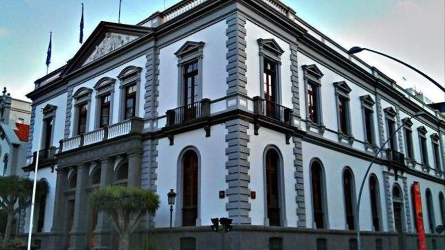 Casas consistoriales de Santa Cruz, en una foto de archivo