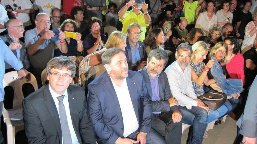 """Cuixart (Òmnium) ve en las urnas el remedio al """"golpe de estado del miedo"""" del Gobierno"""