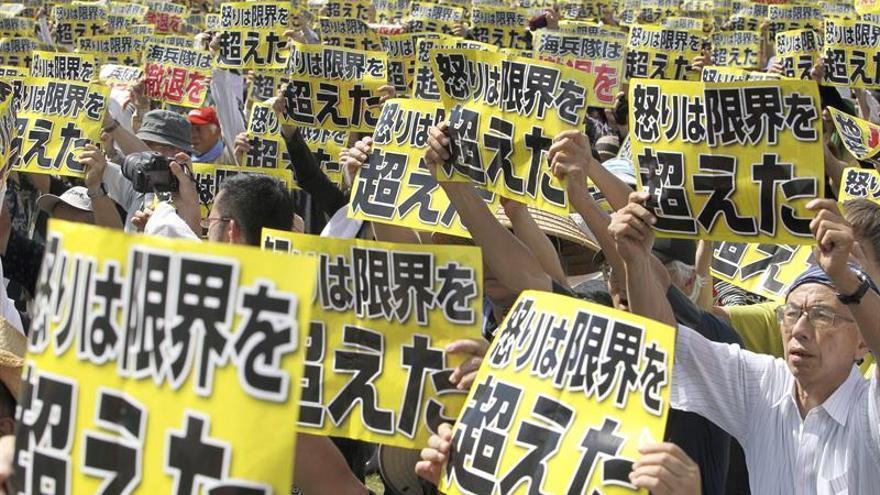 Japón negocia con EEUU la reducción de sus tropas en Okinawa tras las protestas