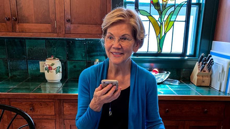 Elizabeth Warren, senadora demócrata y candidata a la presidencia.