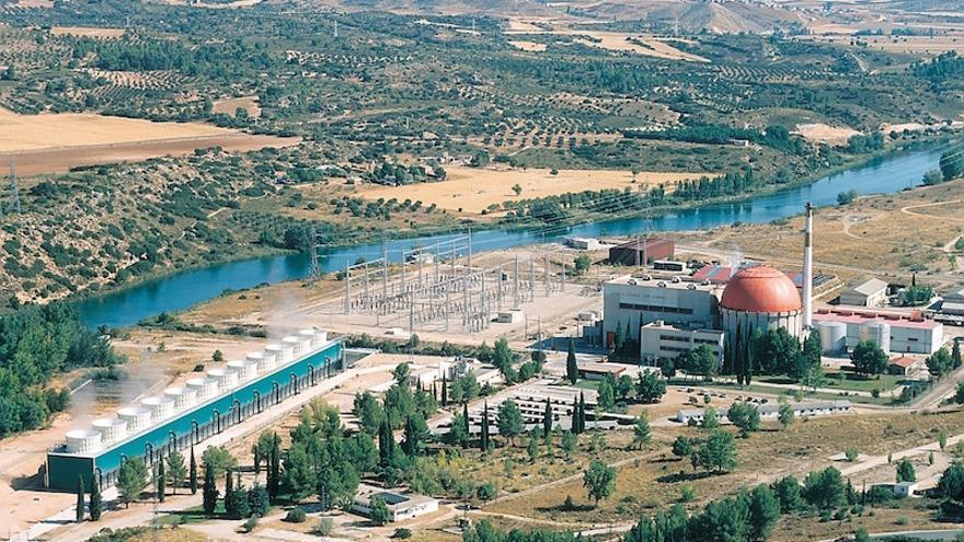 Desmantelamiento de la central nuclear José Cabrera, en Almonacid de Zorita FOTO: FORO NUCLEAR