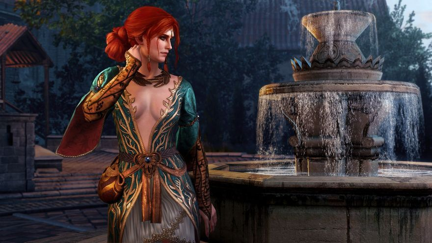 The Witcher 3 Triss Merigold