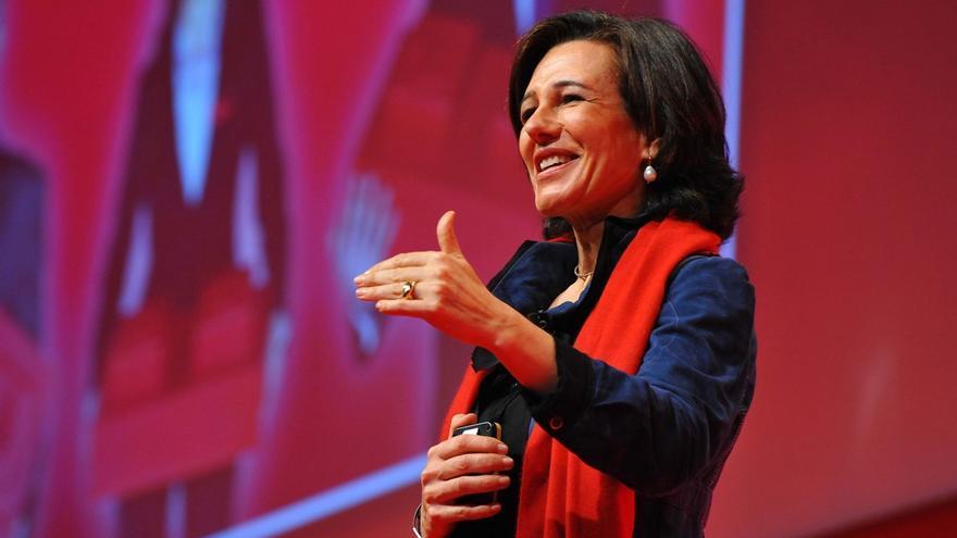"""Ana Botín se compromete a seguir la """"trayectoria de éxito"""" de su padre para afianzar la cultura del Santander"""