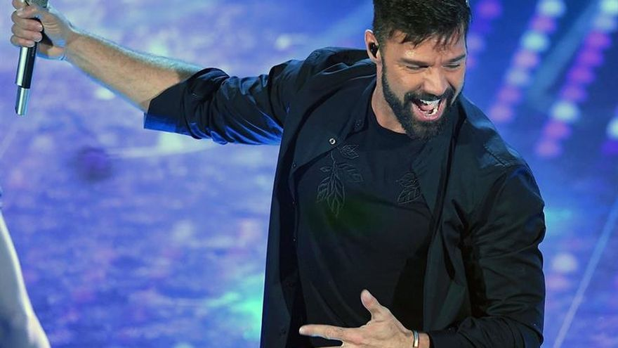 Ricky Martin recalará en mayo en seis ciudades españolas