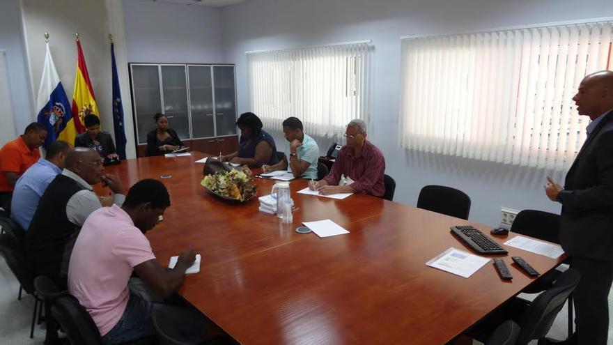 Técnicos caboverdianos estudian la experiencia grancanaria en tratamiento de aguas residuales.