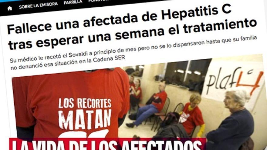 Campaña de hepatitis C de IU-Castilla-La Mancha