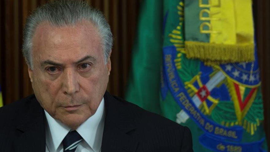 Temer dice que Brasil volvió a crecer y que sus reformas impulsarán la economía