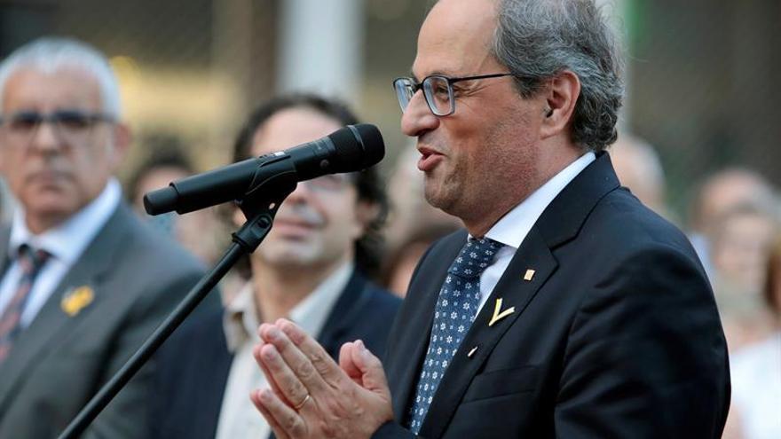 """Torra asegura que """"el horizonte de libertad de Cataluña"""" está muy cerca"""