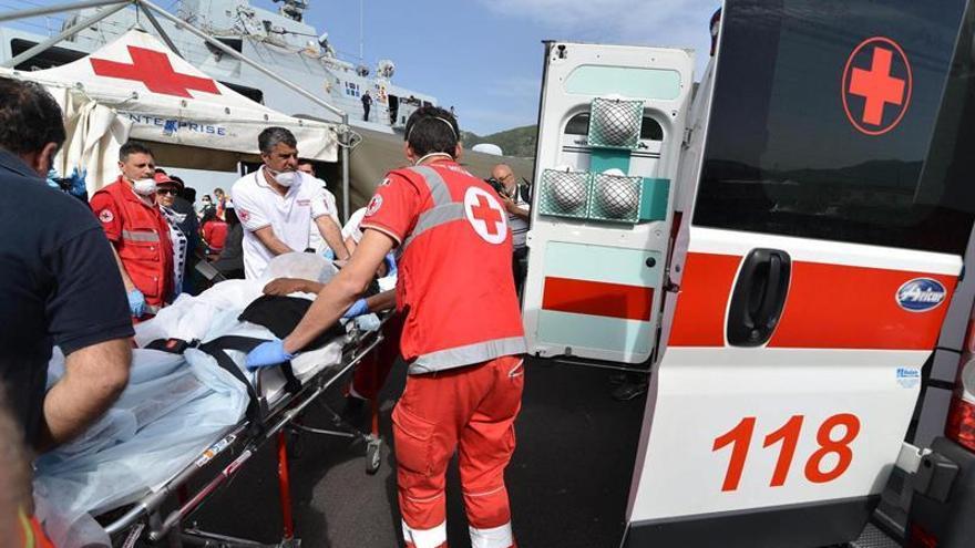 La Marina Militar italiana rescata a más de 1.000 personas en el Mediterráneo